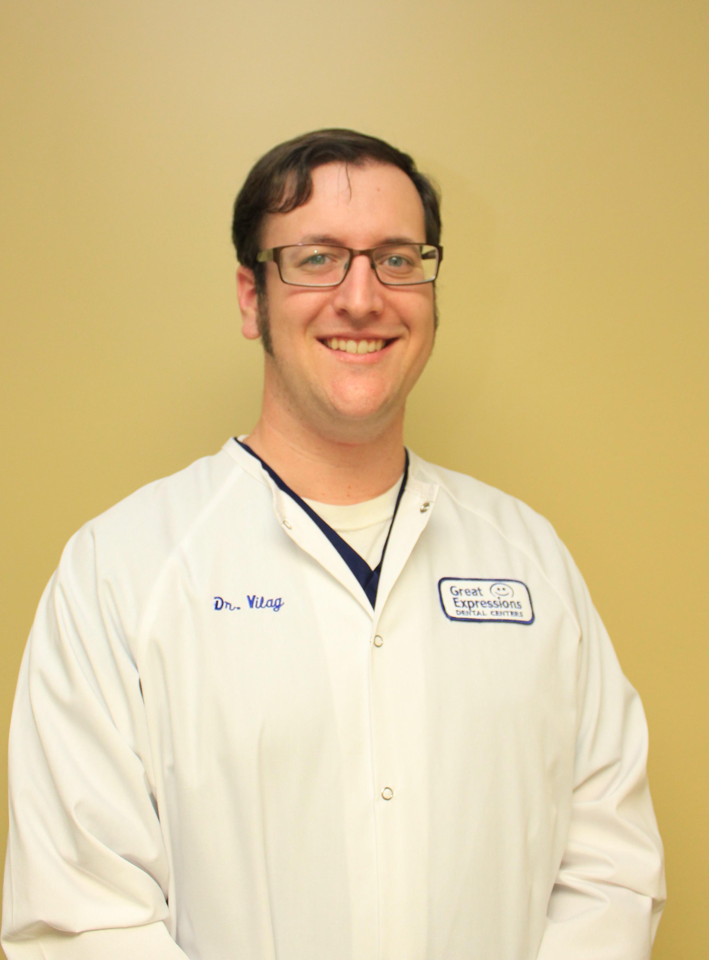 Dr. Vilag, a Great Expressions Dental Centers' dentist.