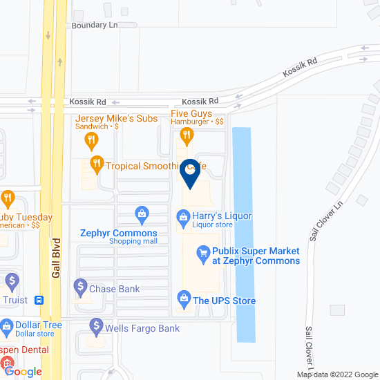 Directions to 7950 Gall Boulevard